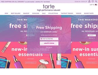 Thumbshot of Tartecosmetics.com