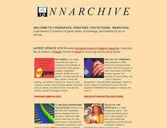 annarchive.com screenshot