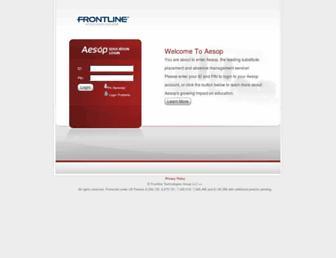 Thumbshot of Aesoponline.com