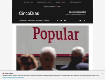 cincodias.elpais.com screenshot