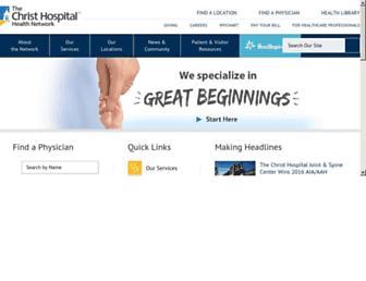 thechristhospital.com screenshot