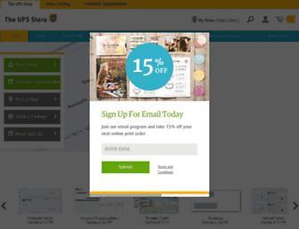 Thumbshot of Theupsstore.com