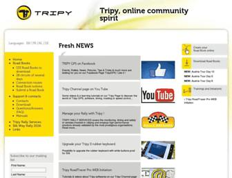 community.tripy.eu screenshot