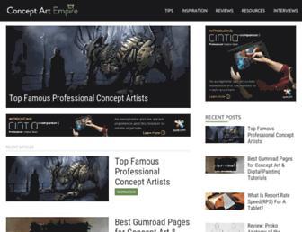 conceptartempire.com screenshot