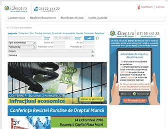 idrept.ro screenshot