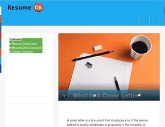 resumeok.com screenshot