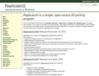 replicat.org screenshot