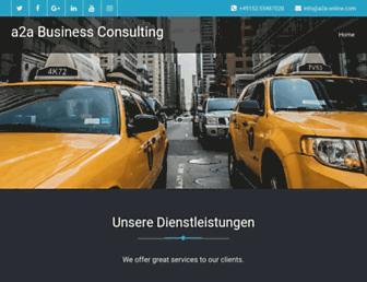 a2a-online.com screenshot