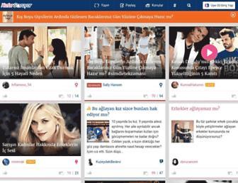 kizlarsoruyor.com screenshot