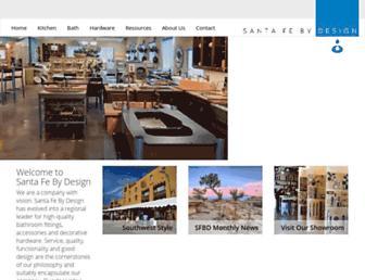 santafebydesign.com screenshot
