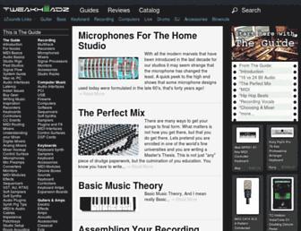 tweakheadz.com screenshot