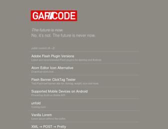 gapcode.com screenshot