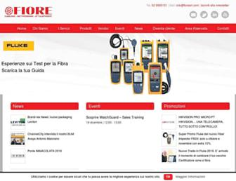 fioresrl.com screenshot