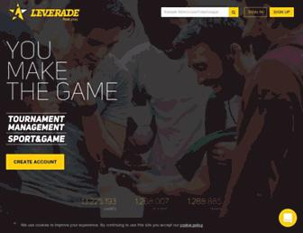 leverade.com screenshot