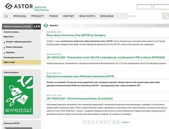 platforma.astor.com.pl screenshot