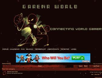 garenahacking.newgoo.net screenshot