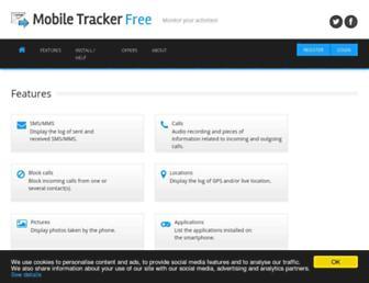 mobile-tracker-free.com screenshot