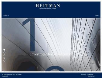 heitman.com screenshot