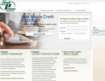 Thumbshot of Mypremiercreditcard.com