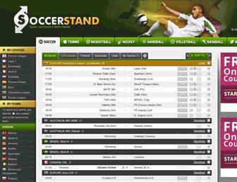 pt.soccerstand.com screenshot