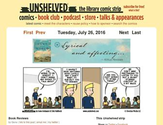 Thumbshot of Unshelved.com