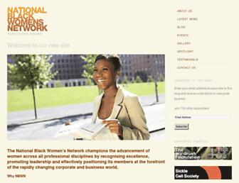 Main page screenshot of nbwn.org