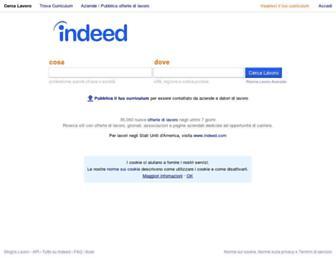 it.indeed.com screenshot