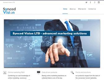 Thumbshot of Syncedvision.com