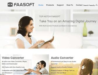 faasoft.com screenshot