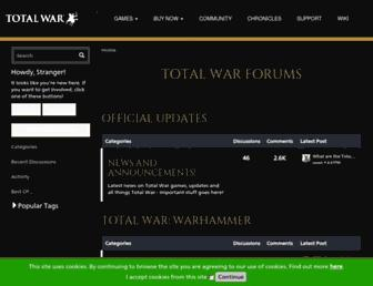 forums.totalwar.com screenshot