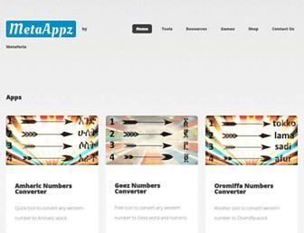 metaappz.com screenshot