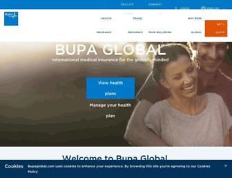 bupaglobal.com screenshot