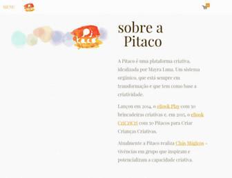 pitacoecia.com.br screenshot