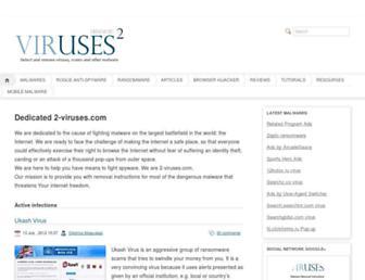 2-viruses.com screenshot