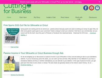 cuttingforbusiness.com screenshot