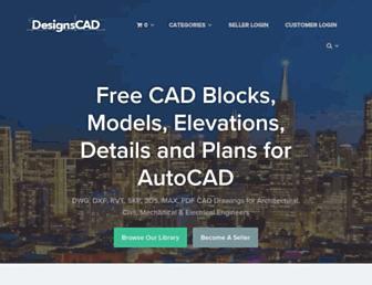 designscad.com screenshot