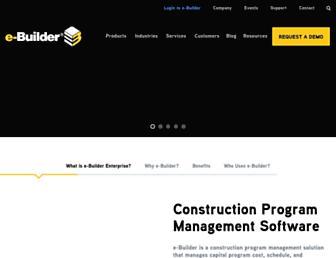 e-builder.net screenshot