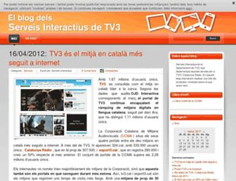 Main page screenshot of blogs.324.cat