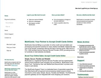 Thumbshot of Multicards.com
