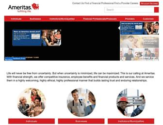 ameritas.com screenshot