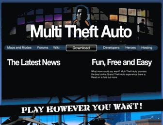 Thumbshot of Multitheftauto.com