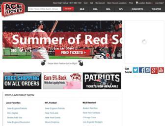 Thumbshot of Aceticket.com