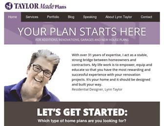 taylormadeplans.com screenshot