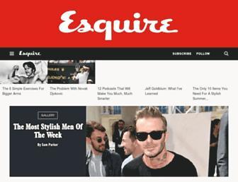 Thumbshot of Esquire.co.uk