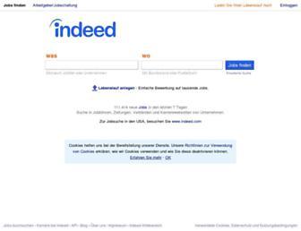 de.indeed.com screenshot