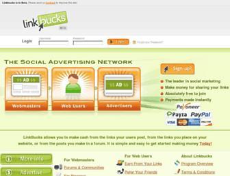 Thumbshot of Linkbucksmedia.com