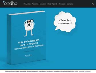 ondho.com screenshot