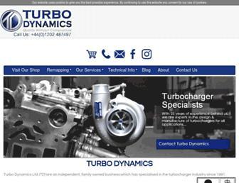 turbodynamics.co.uk screenshot