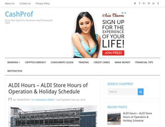 cashprof.com screenshot