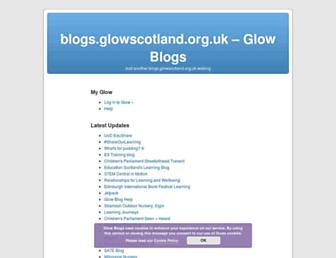 blogs.glowscotland.org.uk screenshot